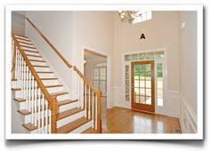It's easy as A, B, C, D … and maybe E. I'll show you how.  THE FOYER   Choosing color for your home can be a challenge. Here I can show...