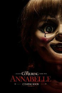 Annabelle (2014) Poster - I give it a solid 6.5 out of 10. But that might be because I am incredibly chicken shit. Totally worth the $8 imho tho.
