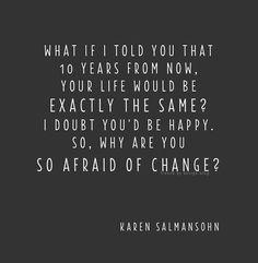 change then.