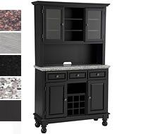 Wonderful $849 Our Premium Large Buffet Server With Two Door Hutch Features A Solid  And Engineered