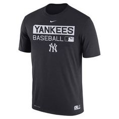 Men's New York Yankees Nike Navy Authentic Collection Legend Team Issue 1.7 Performance T-Shirt