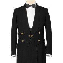 Senior Naval ratings mess jacket with cummer bund
