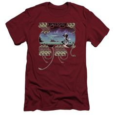 Yes Yessongs Cardinal Fine Jersey T-Shirt