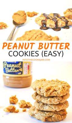 Check out the best peanut butter cookie recipes, including the easiest peanut butter cookie recipe with only 3-ingredients. This is also a gluten free peanut butter cookie recipe. These peanut butter cookies are so easy to make, you're going to fall in love with these delicious peanut butter cookies! Gluten Free Peanut Butter Cookies Recipe, Peanut Butter Cookies 3 Ingredient Recipe, Classic Peanut Butter Cookie Recipe, Making Peanut Butter, Sugar Cookies Recipe, Cookie Recipes For Kids, Best Cookie Recipes, 3 Ingredients, Chocolate Chip Cookies