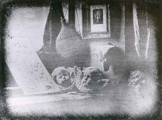 Still Life, daguerreotype by Louis-Jacques-Mandé Daguerre, 1837; in the collection of the Société Française de Photographie, Paris.