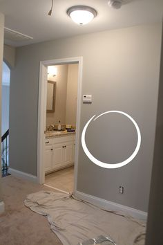 How to paint like a pro, 5 easy tips. Sherwin Williams Mindful Grey.