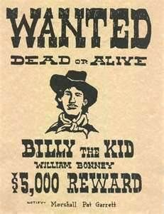 The poster shows a reward of $5000--that would be approximately $90,700 by today's standard.
