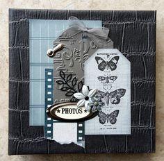 Mini album et tutoriel avec papier lorelai Design