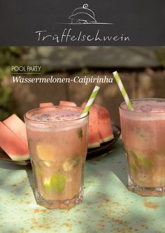 Wassermelonen-Caipirinha #poolparty