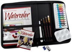 Watercolor Keep N Carry Extra Large Art Set 458246 - Kits & Sets $17.63