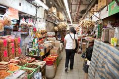 Day 1: Dried sea foods at the Food Market, #HK #HongKong