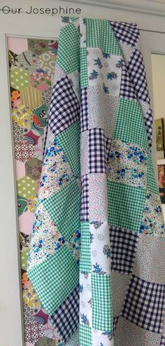 Our Josephine Sews… How to Plan a Simple Patchwork