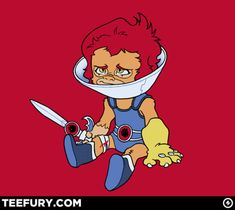 My daughter would get a kick out of this. Thundercats anyone??