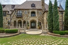 Majestic French Château in Texas 12