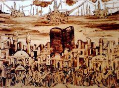 نقاشی نفتی آذربایجان
