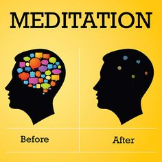 Get into a habit of meditating daily.