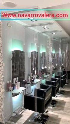 Blow Bar, Barber Apron, Salon Stations, Barber Shop Decor, Beauty Salon Decor, Mobile Office, Salon Interior Design, Hair Spa, Spa Treatments
