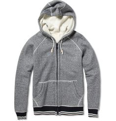 Band of OutsidersCotton Zip Up Hoodie