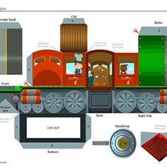 Train Paper Craft On Pinterest Paper Models Steam