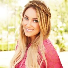 Pretty Long Hair Style Inspiration {via LC Lauren Conrad Kohl's 2012 Fall Collection}