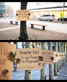 Street Marketing expo éphémère...idée eue il y a plus de 20 ans déjà ;-)