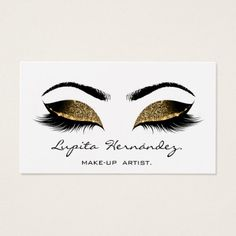 Deep Sepia Glitter Makeup Artist Lash Black White Business Card designed by luxury_luxury. This business card is available on 11 different card stocks. Glitter Eyebrows, Glitter Makeup, Glittery Nails, Glitter Hair, Glitter Eyeshadow, Brown Makeup, Pink Makeup, Black Makeup Artist, Glitter Projects