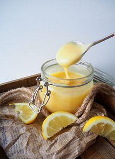 Lemon Curd, Panna Cotta, Sugar, Baking, Fruit, Ethnic Recipes, Sweet, Candies, Food