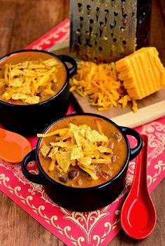 Lekker eten met Marlon: Cheesy Mexicaanse taco soep