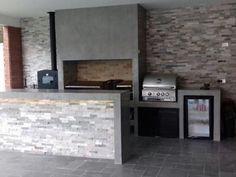 Santiago-quinchos-50 Barbacoa, Bbq, Home Decor, Gardens, Pools, Windows, Courtyards, Barbecue Grill, Outdoor Kitchen Design