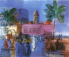 To Discover Ice: Painting of the month (18) June 2011: Raoul Dufy