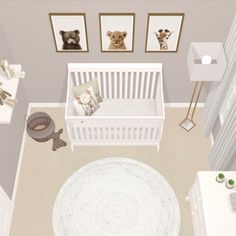 35 Gorgeous Baby Nursery Decor Ideas - Are you going to be bringing a little baby home from the hospital pretty soon? Hopefully you already have everything in order for the baby nursery. Baby Boy Room Decor, Baby Room Design, Baby Boy Rooms, Small Baby Rooms, Nursery Design, Nursery Room Ideas, Baby Bedroom Ideas Neutral, Small Baby Nursery, Ikea Baby Room