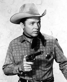 Audie Murphy in one of his many Western roles. c. mid 50s