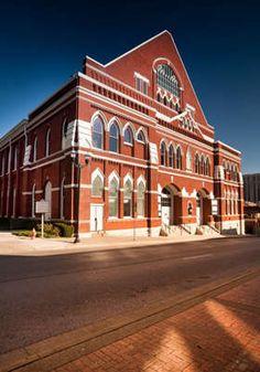 Ryman Auditorium, Nashville, Tenn. Original Grand Old Opry  May 97; Oct 06