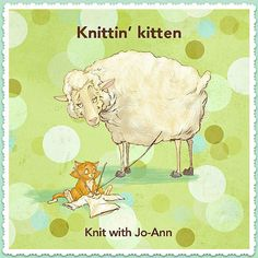 "What Ya Knittin' Kitten? ""Just the comfiest sweater ever!""  #PinPals #Knitting #Kitten"
