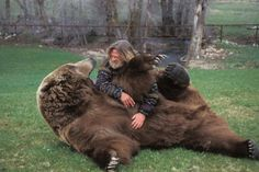 Image result for bear and man friends