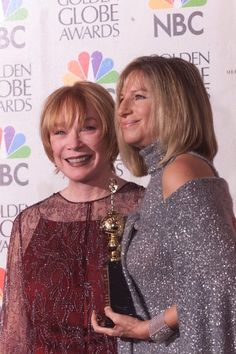Shirley MacLaine and Barbra Streisand share a birthday! You betcha! Hot Actors, Actors & Actresses, Portrait Quotes, Happy Birthday Girls, Shirley Maclaine, Hello Gorgeous, Beautiful, Barbra Streisand, Dance Company