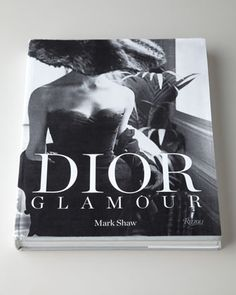 Dior Glamour Book is a collection of the lavish and iconic gowns of Christian Dior, from the 1950s and '60s, captured by the legendary photographer Mark Shaw. Iconic photographer Mark Shaw documented the ultra-exclusive Parisian fashion world, focusing on Paris's long-standing top couturier, Christian Dior. Shaw's photographs—some of the first fashion photographs ever shot in color—capture the most stunning and extraordinary fashion of the era.  $115.00 HCS14_H70WL