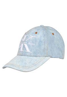 Calvin Klein RE-ISSUE - Czapka z daszkiem - denim light blue za 143,2 zł (13.05.17) zamów bezpłatnie na Zalando.pl.
