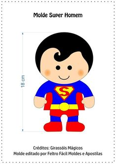 I Love Crafts: Super Heroes with templates and step by step Wonder Woman Party, Quiet Book Patterns, Felt Quiet Books, Felt Christmas Ornaments, Name Banners, Batman Vs Superman, Sewing Toys, Felt Toys, Felt Art