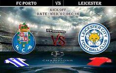 FC Porto vs Leicester 07.12.2016 Predictions - PPsoccer