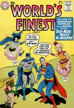 Worlds Finest Comics #113, November 1960, cover by Curt Swan and Stan Kaye