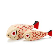 Wooden Dolls Mother Fish & Child