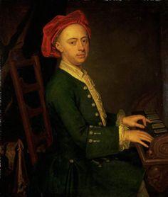 """""""The Chandos portrait of Georg Friedrich Händel"""" by James Thornhill, c. 1720"""