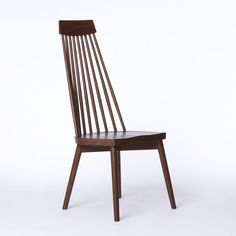 West Elm chair by foyer