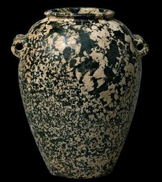 Egyptian porphyritic stone vessel, pre dynasty period. Naqada II, ca. 3600-3200 B.C.