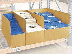 Warehouse Rack Bins