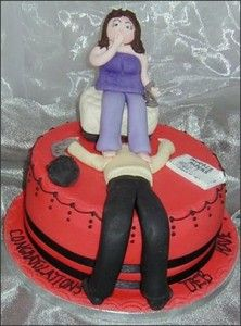 24 Hilarious Divorce Cakes That Are Even Better Than Wedding Cakes Divorce Party, Divorce Cakes, Funny Cake, Perfect Beard, Cake Wrecks, Tasty, Yummy Food, Amazing Cakes, Kids Playing
