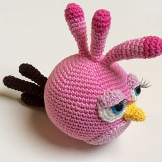 Ravelry: Stella, the Angry Bird pattern by Mandy Brüning