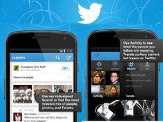 Twitter actualiza su aplicación para Android simplificando las búsquedas