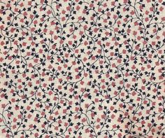 Navy Floral Calico Print Cotton Fabric / Fabric Traditions / 1 yard 15 inches by ThimbleWings on Etsy https://www.etsy.com/listing/456265116/navy-floral-calico-print-cotton-fabric